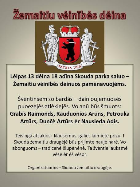 Žemaičių vienybės diena