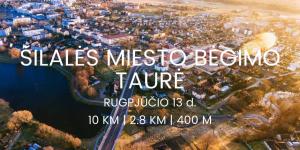 Bėgimo varžybos Šilalės miesto bėgimo taurė 2017