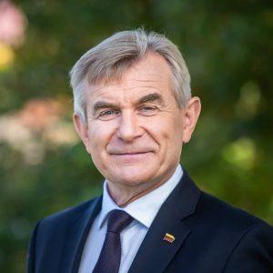 Lietuvos Respublikos Seimo Pirmininkas Viktoras Pranckietis