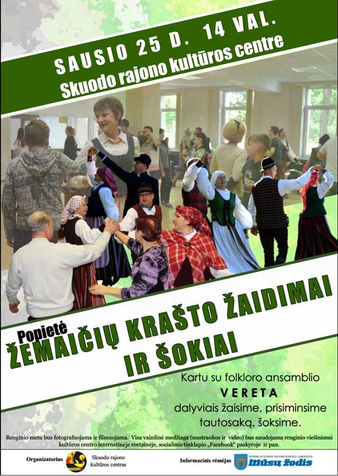 Popietė - Žemaičių krašto žaidimai ir šokiai