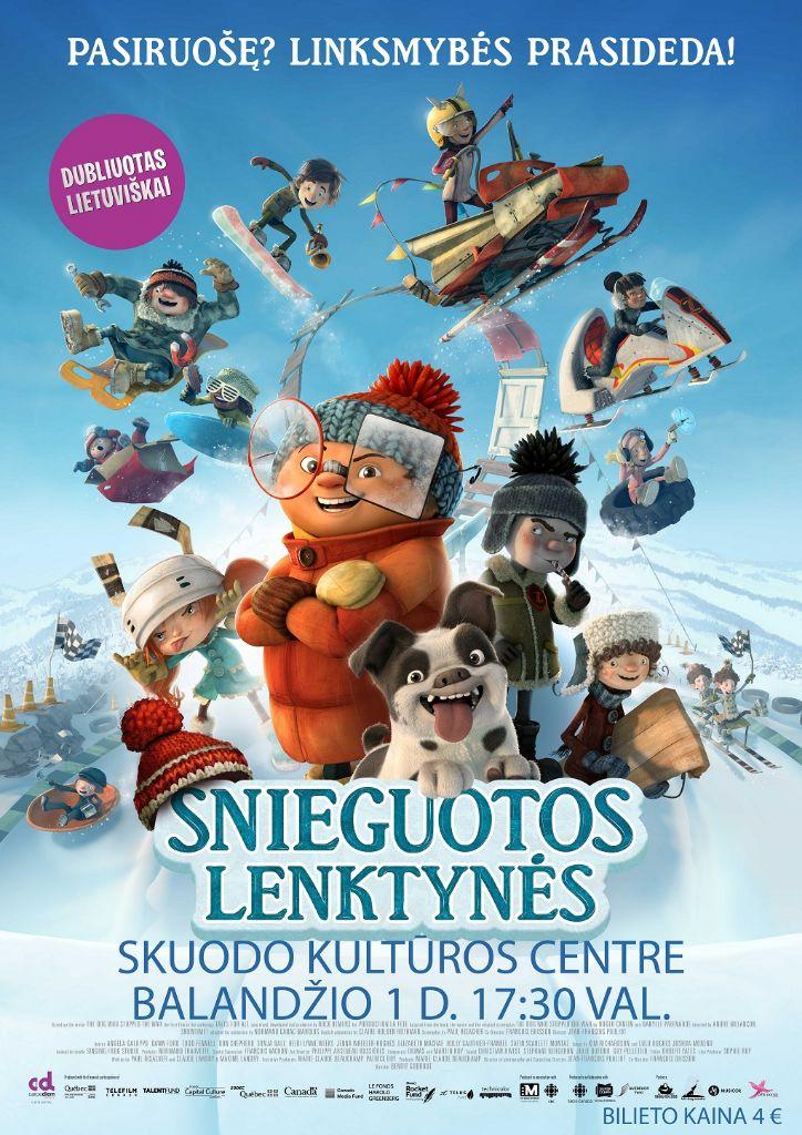 """Animacinis filmas """"Snieguotos lenktynės"""""""