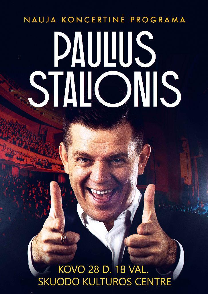 Pauliaus Stalionio koncertas