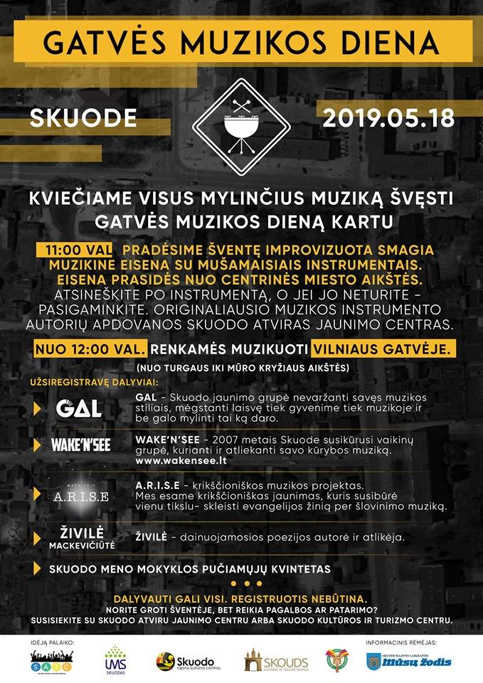 Gatvės muzikos diena Skuode