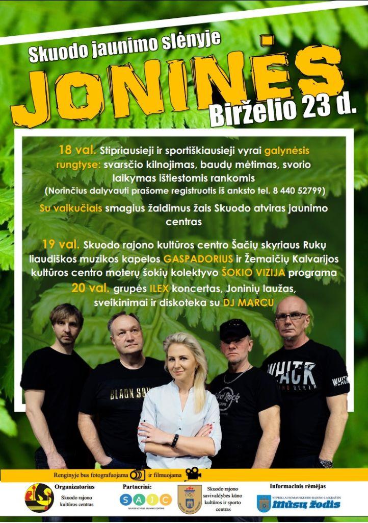 Joninių šventė Skuode