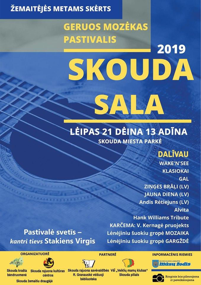 """Geros muzikos festivalis """"Skouda sala"""""""