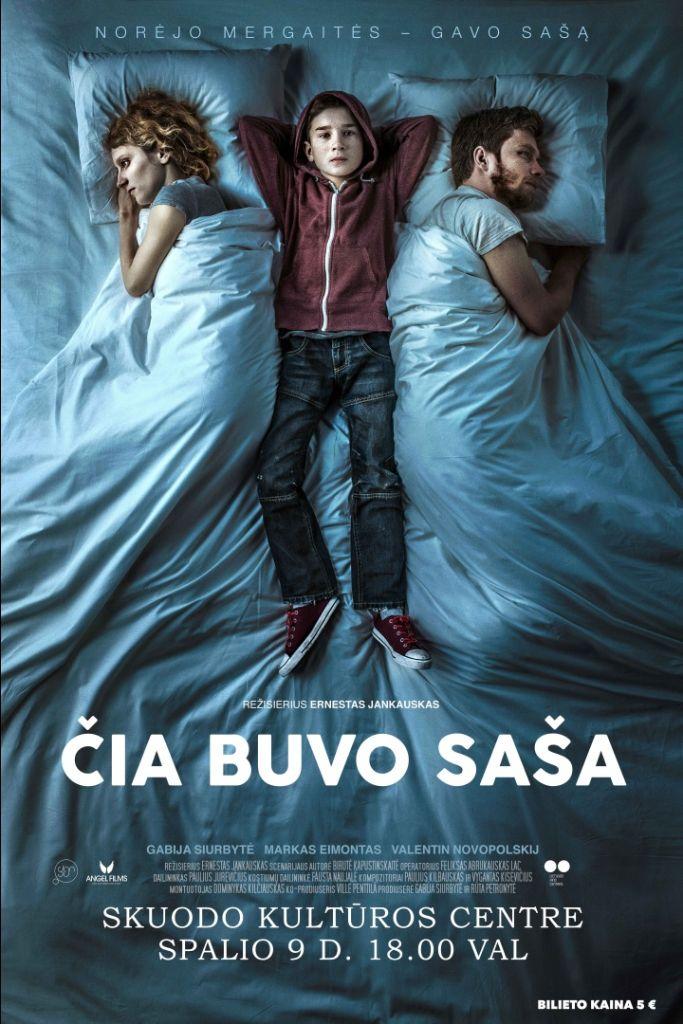 """Kino filmas Skuode - """"Čia buvo Saša"""""""