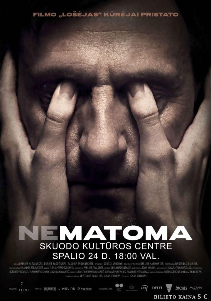 """Kino filmas """"Nematoma"""""""