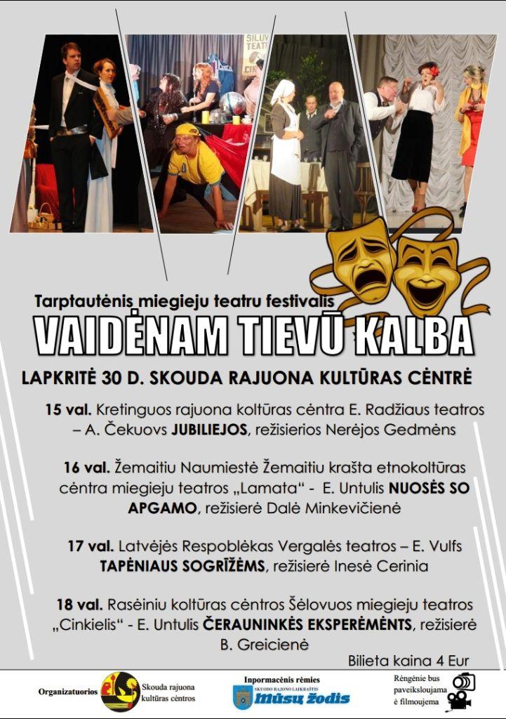 Teatrų festivalis Skuode