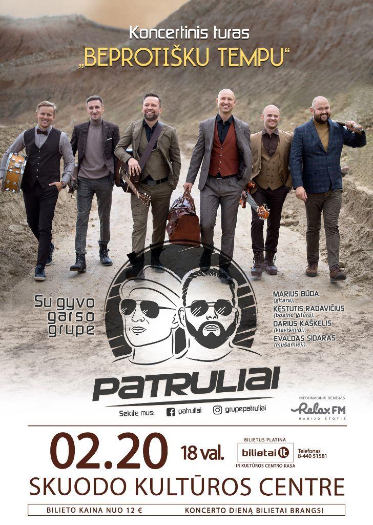 """Grupės """"Patruliai"""" koncertas Skuode"""