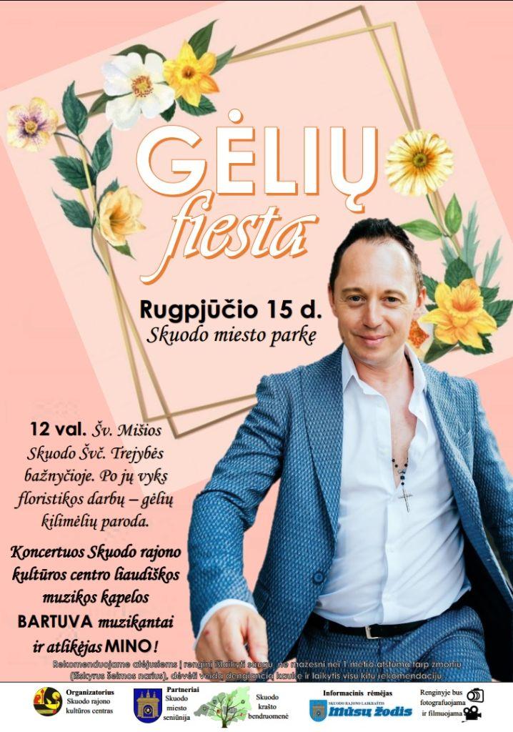 Gėlių fiesta Skuode