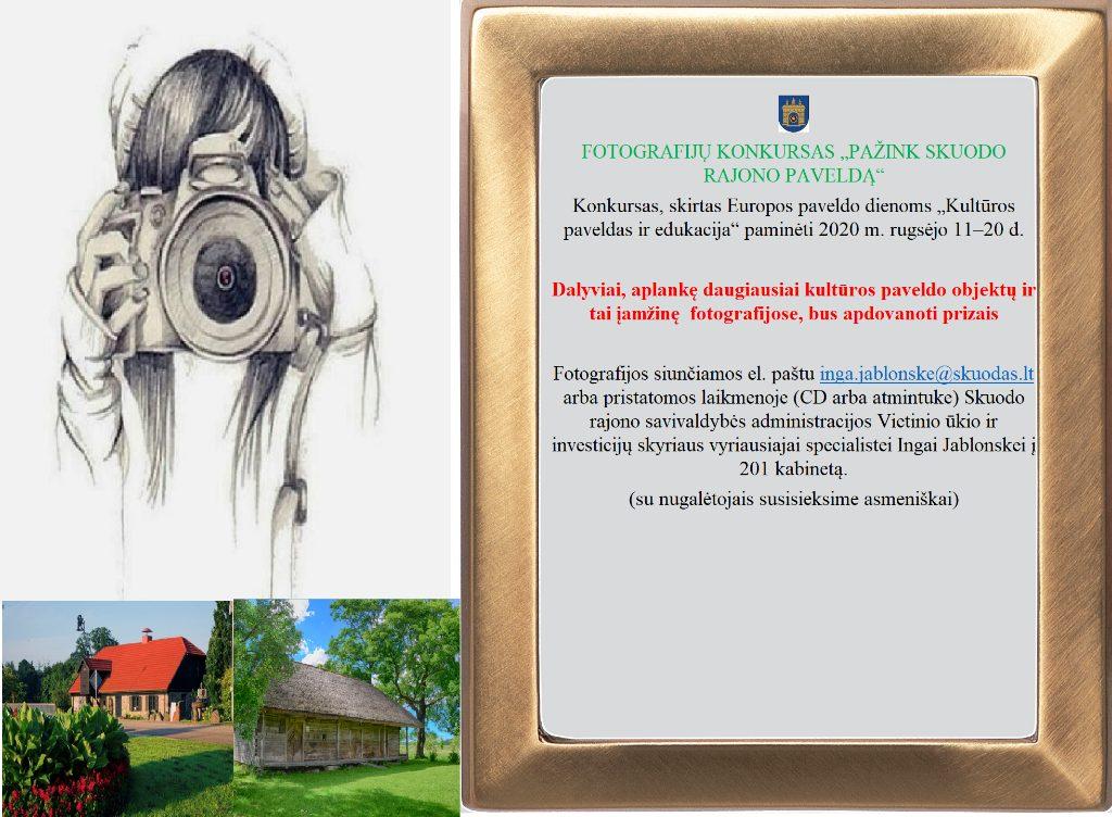 """Kviečia dalyvauti fotografijų konkurse """"Pažink Skuodo rajono paveldą"""""""