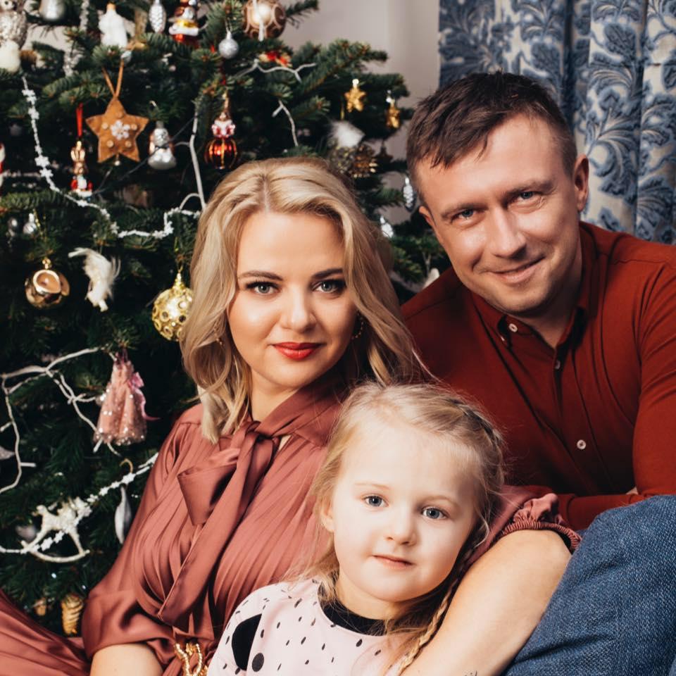 Renata Jampolskė su vyru niekada nekvestionavo vakcinacijos naudos. Kristinos Aleksynaitės nuotr.