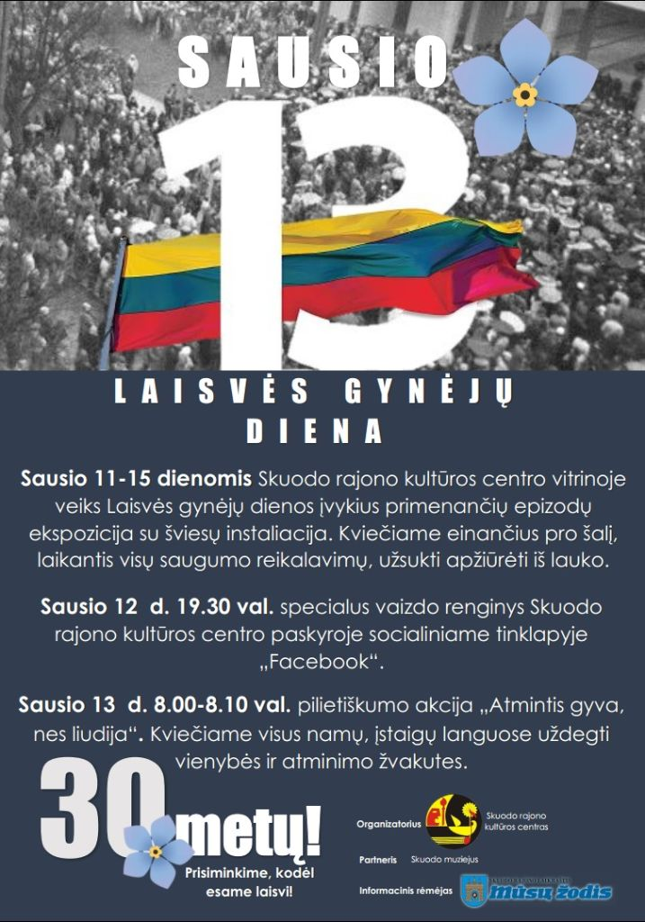 Laisvės gynėjų diena Skuode