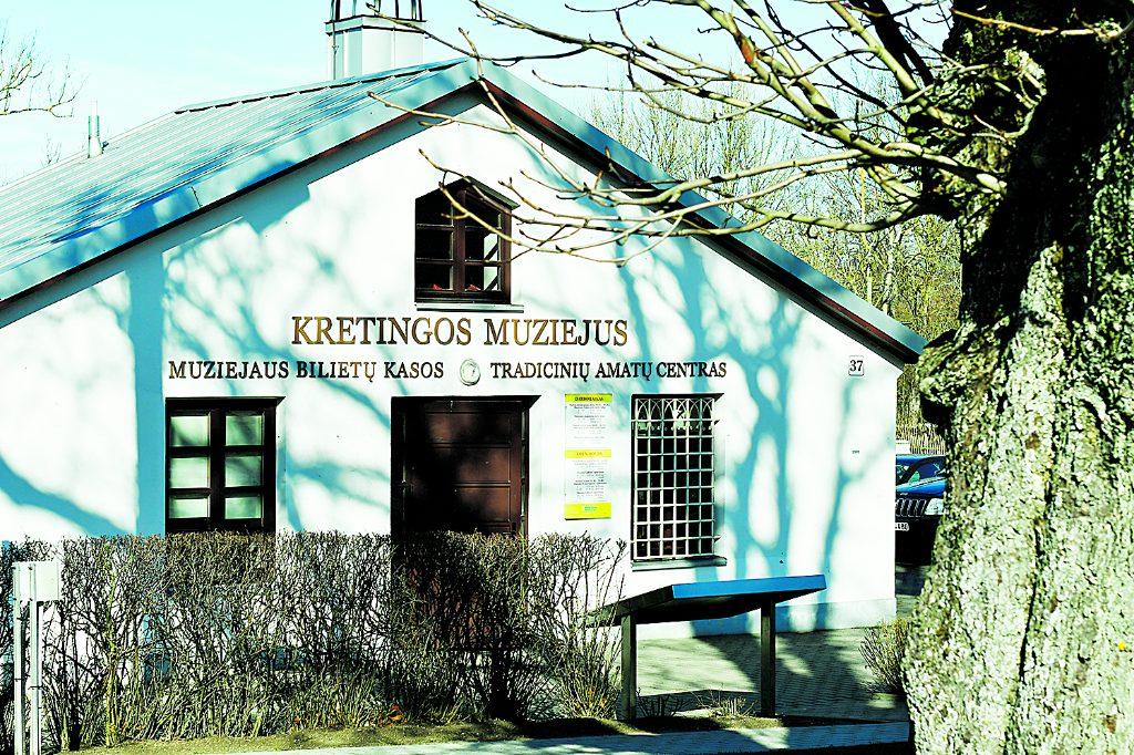 Kretingos muziejaus Tradicinių amatų centras, kuriame gausu edukacijų, įsikūręs istorinėje vietoje – buvusiame Dvaro šiltnamyje. Dariaus Šypalio nuotr.