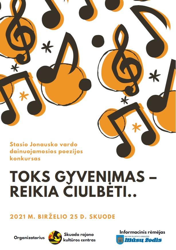 Stasio Jonausko vardo dainuojamosios poezijos konkursas