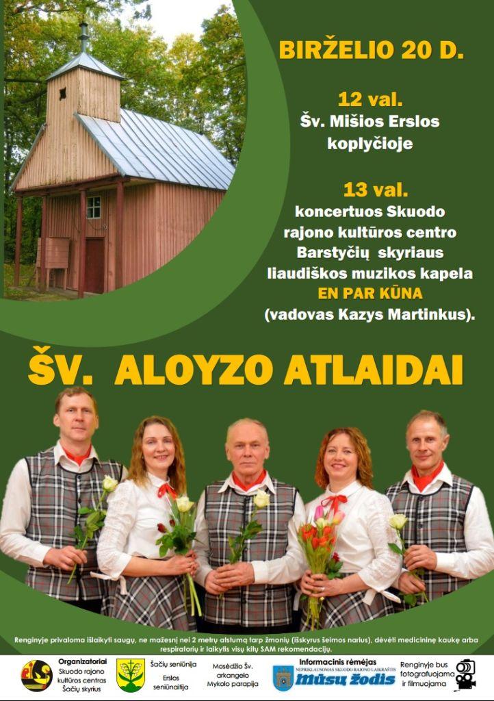 Šv. Aloyzo atlaidų šventė