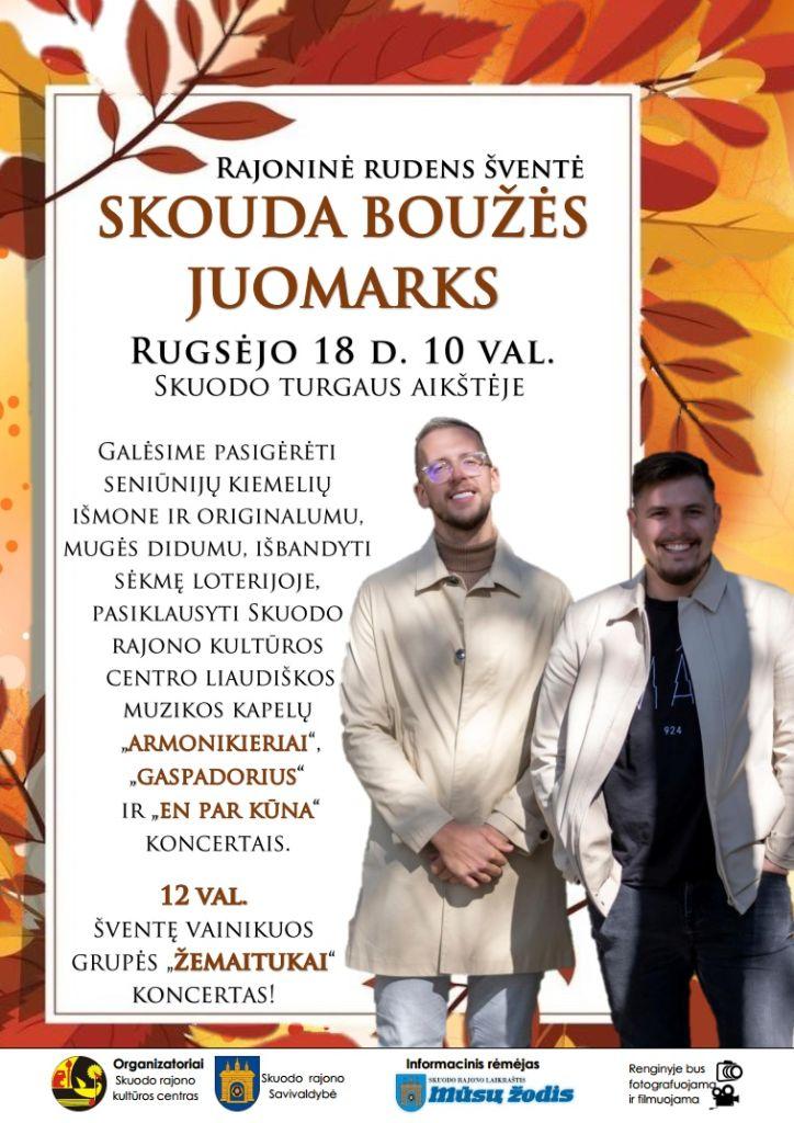 """Rajoninė rudens šventė Skuode - """"Skouda boužės juomarks"""""""